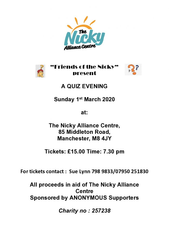 A QUIZ NIGHT AT THE NICKY